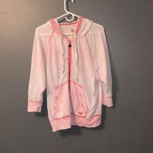 Cute light pink roxy sweatshirt!